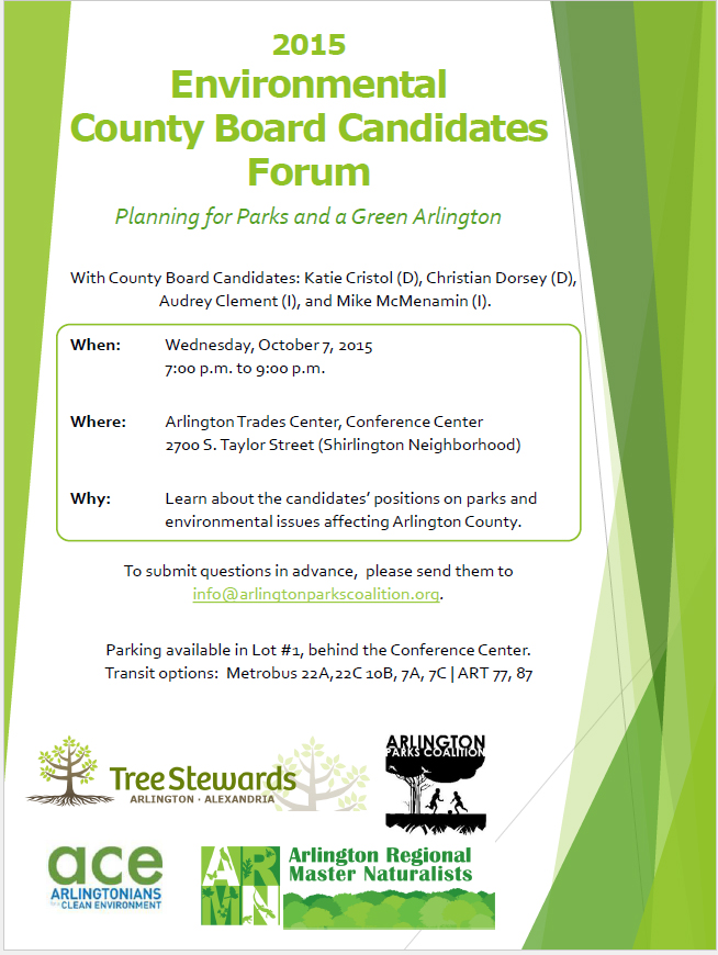 candidates forum flyer_Oct. 7